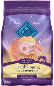 Blue Buffalo Cat Food Healthy Aging